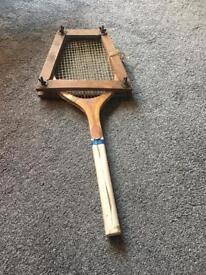 Rare vintage Spalding Racket