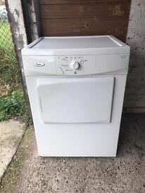 Whirlpool vented dryer