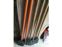 3 pair of paddle oars
