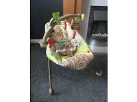 Fisher Price Woodlands Friends Bouncer Chair