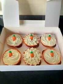 6 x Cupcakes made to order