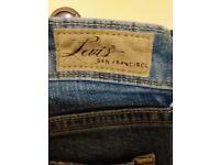 Levi ladies jeans, size 8