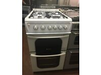 50CM WHITE HOTPOINT GAS COOKER