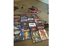 Slimline PlayStation 2 with 27 games