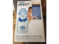 Digital bottle warmer
