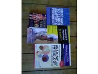Nursing degree books/nursing skills and anatomy books