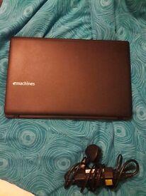 Laptop Emachines - good condition