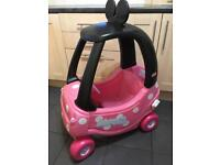 Minnie Mouse Little Tikes Cosy Coupe Car