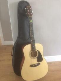 Fender acoustic guitar & all the extras
