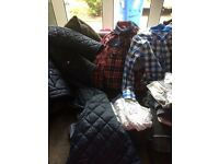 Bundle of boys clothes age 7-8 and 8-9