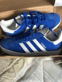 Adidas Gazelles Size 9.