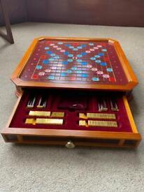 Scrabble-The Classic Collectors Edition 22carat gold