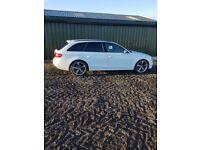 Audi A4 sline black edition