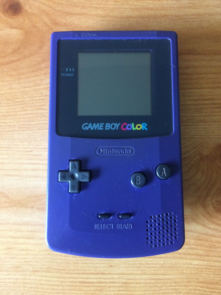 Game boy color list - Gameboy Color In Very Good Condition Including 12 Games See Description For List