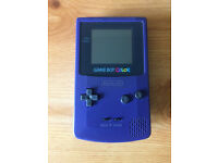 Gameboy Color in very good condition, including 12 games (see description for list)