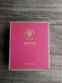 Manchester united treble turf