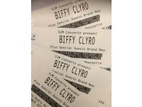 Biffy Clyro Standing Tickets x 4 Newcastle 2nd Dec