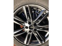 JAGUAR XF (2011-2015) ALLOY WHEELS X4 AND TYRES 235/55/17