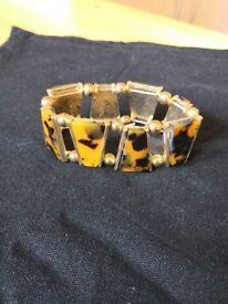 Tortiseshell bracelet £1.50