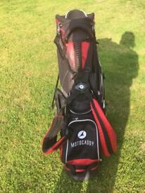 Motocaddy stand carry bag