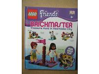 "Lego Brickmaster ""FRIENDS TREASURE HUNT IN HEARTLAKE CITY"" Parts are sealed."