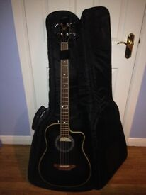 ARIA AMB-50B ACOUSTIC BASS GUITAR IN EXCELLENT CONDITION