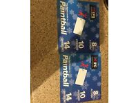 Paintball tickets & 2000 paintballs