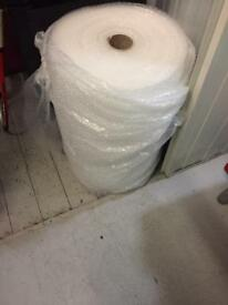 Roll of bubble wrap approx 750mm high