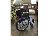 FAD 2196 self propelled wheel chair