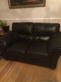 Free black leather sofas