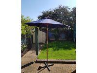 Garden Parasol Blue