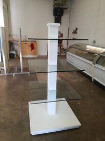 Glass 3 tier display Stand