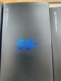 SAMSUNG GALAXY S8/S8 PLUS BRAND NEW CONDITION OPEN ON ALL NETWORKS AND WARRANTY