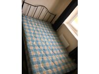 Small double bed (4ft) with mattress