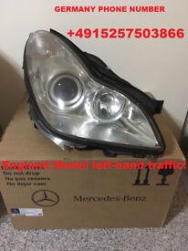 CLS w219 c219 Mercedes headlights Bi Xenon For left-hand traffic