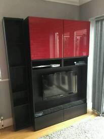 Ikea tv unit and shelf unit