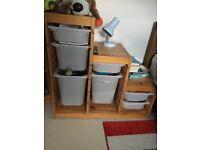 Ikea storage combination excellent condition