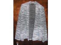 Asos knitted jacket - size 16, hardly worn.