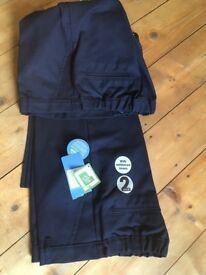 Boys Navy Blue School Trousers