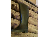 Child's Riding Boot Black Size C12, £5