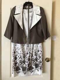 Dress and jacket perfect for wedding