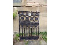 Reclaimed Antique Cast and Wrought Iron Garden Gate
