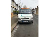2006 ford transit 3.5ton recovery truck 2.4 flat body 16 ft bed