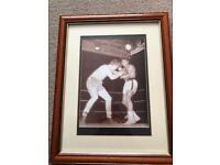 Boxing signed photo