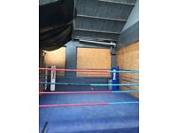 Boxing ring needs to be gone asap
