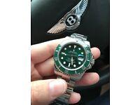 """Rolex Submariner """"Hulk"""" Swiss Made"""