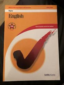 Higher English Study Guide (Leckie&Leckie)