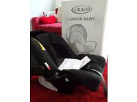 NEW & UNUSED Graco Junior Baby 0+ Charcoal