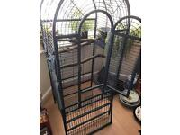 Indoor or out door very large bird cage