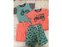 Next 4-5 boys summer pyjamas guc